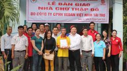 Vedan Viêt Nam tặng 4 căn nhà cho hộ nghèo