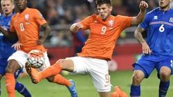 """Hà Lan trước nguy cơ bị loại khỏi EURO 2016: """"Lốc cam"""" hóa gió thoảng"""