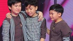 """""""Tài tử nhí"""" The Voice Kids khóc nức nở khi bị loại"""