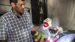 Ngôi nhà đổ nát của bé trai Syria chết đuối