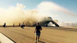 Anh: Máy bay chở 172 người bốc cháy khi sắp cất cánh