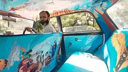 """Ấn tượng với """"taxi nghệ thuật"""" tuyệt đẹp tại Ấn Độ"""