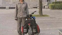 Nữ sinh đi xe đạp, vượt 2.500 km tới trường nhập học
