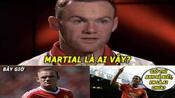 ẢNH CHẾ: Rooney đã biết Martial là ai, Messi cố tình sút hỏng penalty