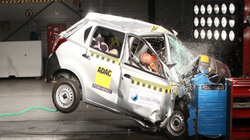 Xe Nissan Datsun Go có độ an toàn cực thấp tại Đông Nam Á