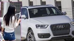 Cãi nhau với người yêu, thiếu nữ đập nát xe Audi Q3