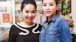 Lê Khánh, Diễm Trang giản dị đi phát quà trung thu