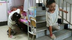 Cô gái 19 tuổi cụt chân một mình chống chọi với cuộc sống