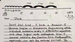 Bài toán khó lớp 3 và màn đáp trả hài hước của ông bố
