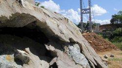 Khắc phục sụt lún tại cầu treo 6,2 tỷ đồng