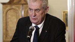 Tổng thống Czech muốn trưng cầu dân ý về việc rời khỏi EU