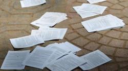 Thi môn Văn, gần 90 thí sinh bị đình chỉ do mang tài liệu