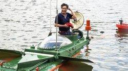 Tàu ngầm Hoàng Sa lần đầu chạy thử nghiệm trên biển
