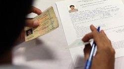 Hà Nội: Đổi giấy phép lái xe ở cơ quan, chỉ mất 10 phút