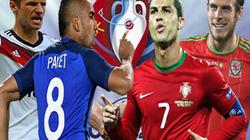 Lịch thi đấu, phát sóng trực tiếp bán kết EURO 2016