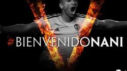 Nani bất ngờ gia nhập Valencia với giá 8,5 triệu euro