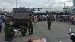 Mẹ cùng 2 con khóc ngất bên thi thể cha bị tai nạn giao thông