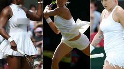 Loạt váy áo ngắn, hở, lạ gây ồn ào tại Wimbledon 2016