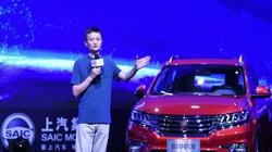 """Tỷ phú Jack Ma ra mắt mẫu xe """"vạn vật kết nối"""""""