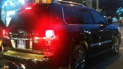 Vụ Lexus biển xanh: Trưởng phòng CSGT tự nhận kỷ luật khiển trách