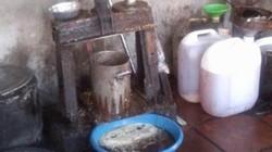 Tận thấy lò chế mỡ siêu bẩn cung cấp cho thị trường Hà Nội