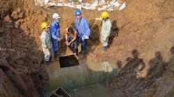Đường ống nước sông Đà gặp sự cố lần thứ 18
