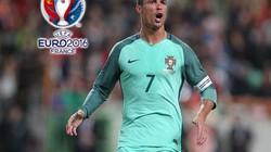 """Top 10 cầu thủ dứt điểm nhiều nhất EURO 2016: Ronaldo """"vô đối"""""""