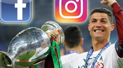 """Vô địch EURO 2016, Ronaldo thành """"Vua mạng xã hội"""""""
