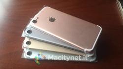 iPhone 7 có tới 4 phiên bản màu khác nhau