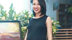 MC Thùy Minh khoe bụng bầu gần 8 tháng