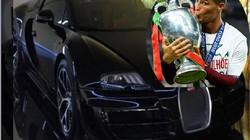 Ronaldo tậu siêu xe Bugatti Veyron mừng chức vô địch Euro