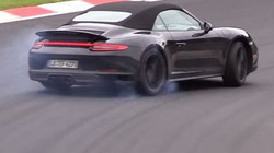 Porsche 911 Carrera GTS Cabriolet lộ diện trên đường thử