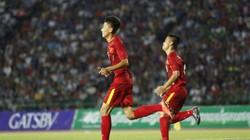 Clip U16 Việt Nam hạ Campuchia, đoạt vé vào chung kết