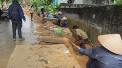 Quảng Ninh: Dân vùng lụt thấp thỏm với bão
