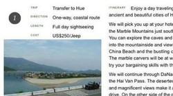 Đà Nẵng chặn truy cập trang web ghi biển Việt Nam thành Trung Quốc
