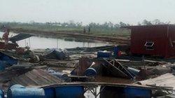 Cận cảnh thiệt hại nặng nề tại Nam Định hậu bão số 1