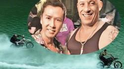 Vin Diesel cưỡi mô-tô lướt sóng truy đuổi Chân Tử Đan