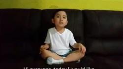 """""""Thần đồng piano 4 tuổi"""" cover """"Anh cứ đi đi"""" cực yêu"""