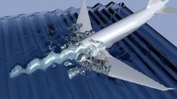 MH370 lao xuống biển với tốc độ cực cao