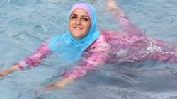 Pháp: Cấm phụ nữ mặc áo bơi Hồi giáo đi biển