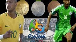 Lịch thi đấu vòng tứ kết môn bóng đá nam Olympic 2016