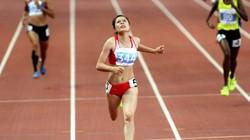 """""""Hot girl"""" Nguyễn Thị Huyền thất bại ở đường chạy 400m Olympic"""
