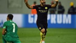 """Clip Aguero lập hat-trick, Man City đại thắng """"5 sao"""""""