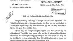 Thủ Tướng yêu cầu Thanh Hóa làm rõ phản ánh về lạm thu phí
