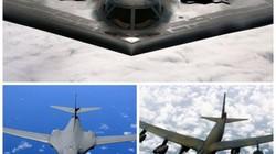 Sức mạnh bộ ba máy bay hạt nhân Mỹ lượn ở Biển Đông