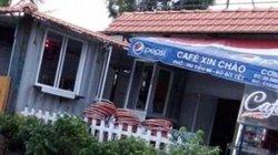 Xử lý chủ quán cà phê Xin Chào vụ đặt container là sai luật