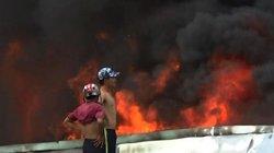 Cháy cực lớn ở Bình Dương, hàng trăm người nháo nhào tháo chạy
