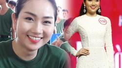 """Hoa hậu VN: """"Bản sao Nguyễn Thị Huyền"""" lội bùn, cuốc đất"""