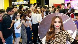 600 fan xếp hàng xem Hà Hồ và những cô gái chân dài