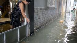 Hà Nội: Nước kênh đen đặc, hôi thối tràn vào nhà dân